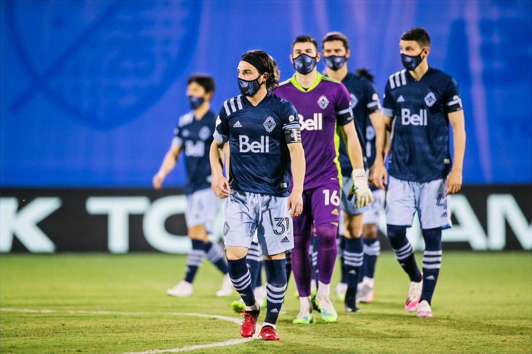 Vancouver Whitecaps facing elimination from the MLS is Back Tournament