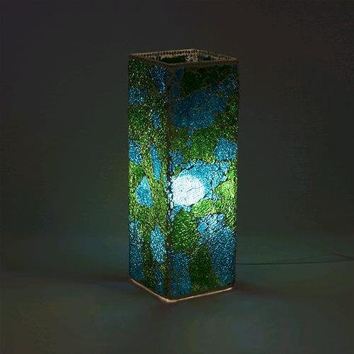 Lampada mosaico vetro
