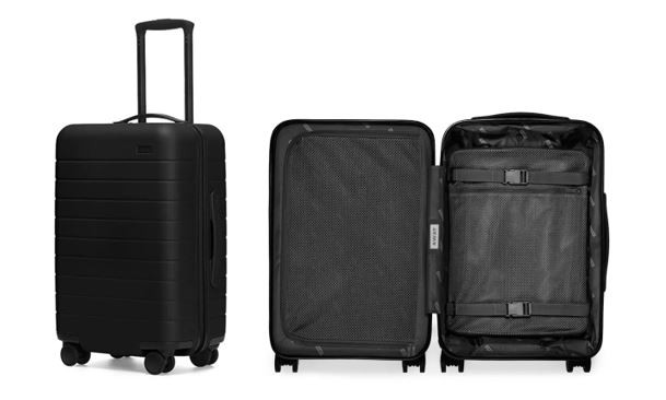 The smart carry-on manufactured by Away