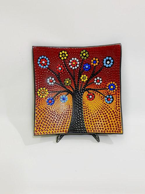 Svuotatasche albero della vita cm 30x30