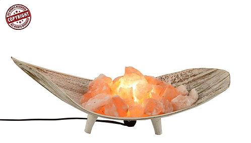 Bracere di sale su foglia di cocco decapata