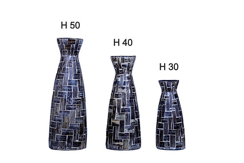 Vaso terracotta h30 cm