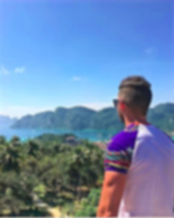 Hiking views from Phi Phi Island, Thailand