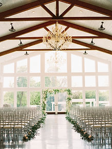 Indoor Event Venue Amenities | Firefly Gardens