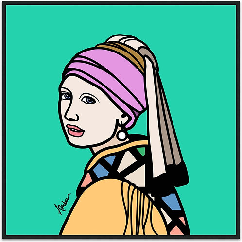 Girl With the Pearl Earring Biscay Pop