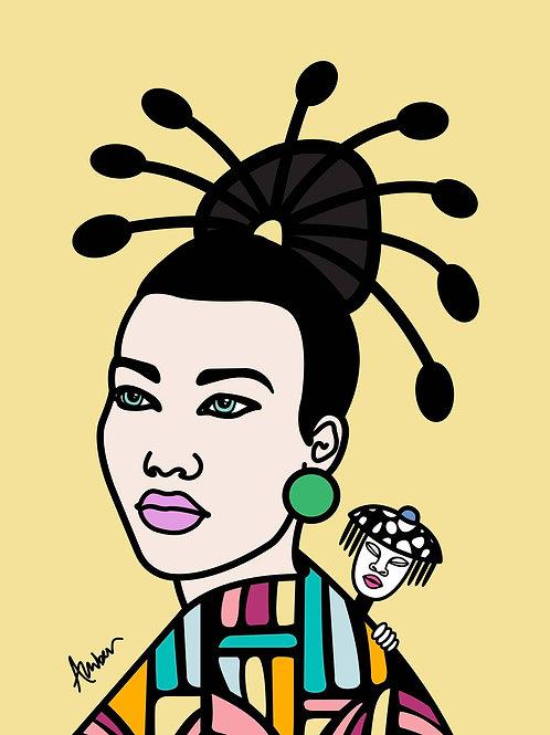 Geisha Clan Yellow Pop
