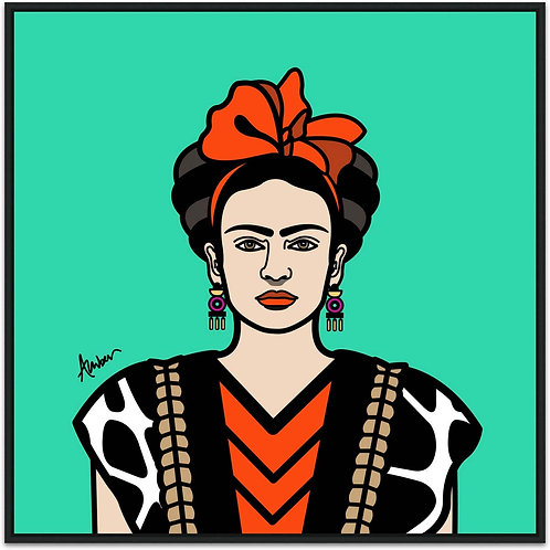 Frida Kahlo Classic Biscay Pop