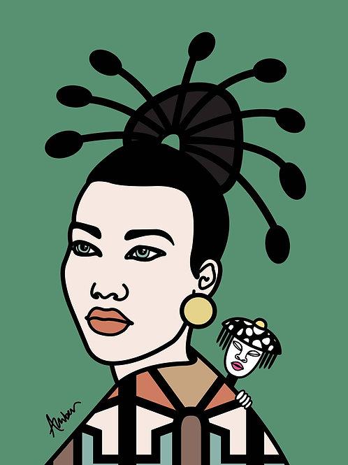 Geisha Clan Vintage Pop