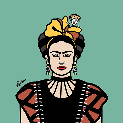 Frida Kahlo Clan Sage Pop