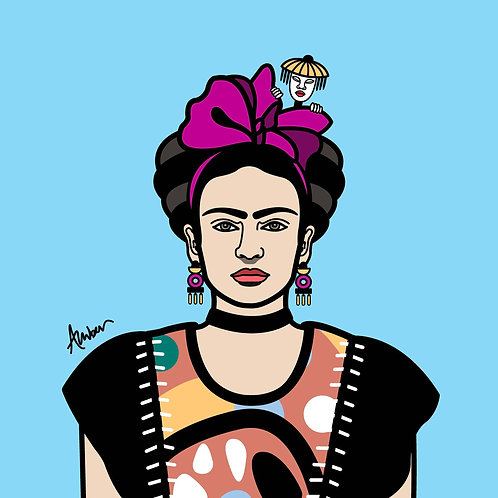 Frida Kahlo Clan Sky Pop
