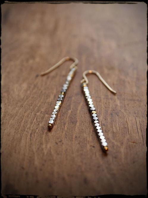Bead Stick Earrings