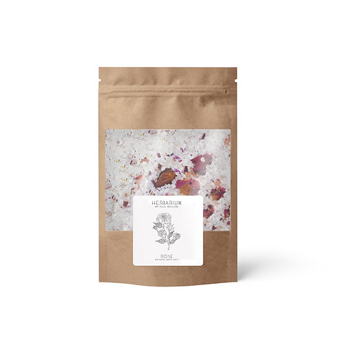 Rose natural bath salt