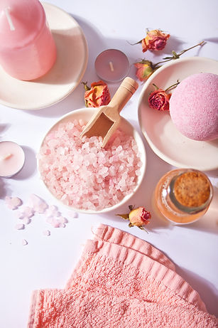 pink-bath-salt-body-care-products-with-p