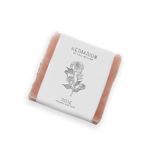 Rose organic bar soap