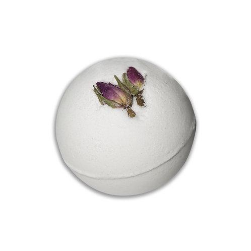 Rose natural bath bomb