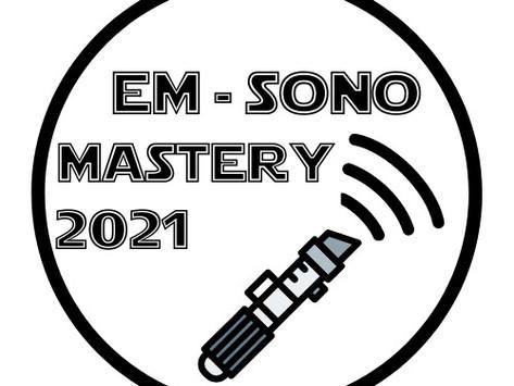 EM-SonoMastery. Il PRIMO corso di POCUS gestito da specializzandi. Patrocinato SIUMB.