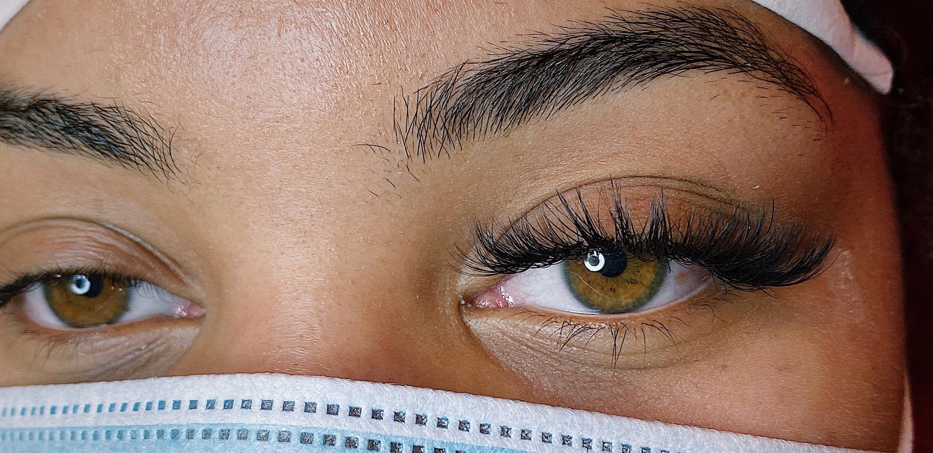 Fierce lashes