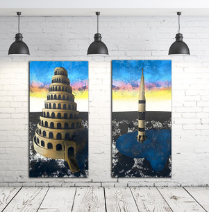"""""""Tower Diptych"""""""