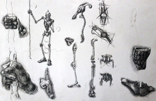 """concept drawing for """"Hunter"""""""