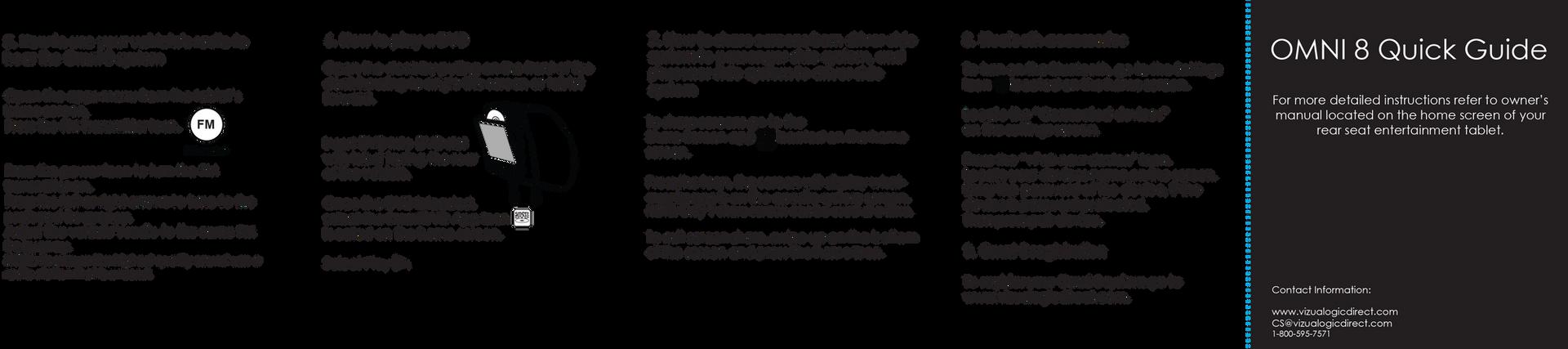 OMNI 8 Quick Guide (back)