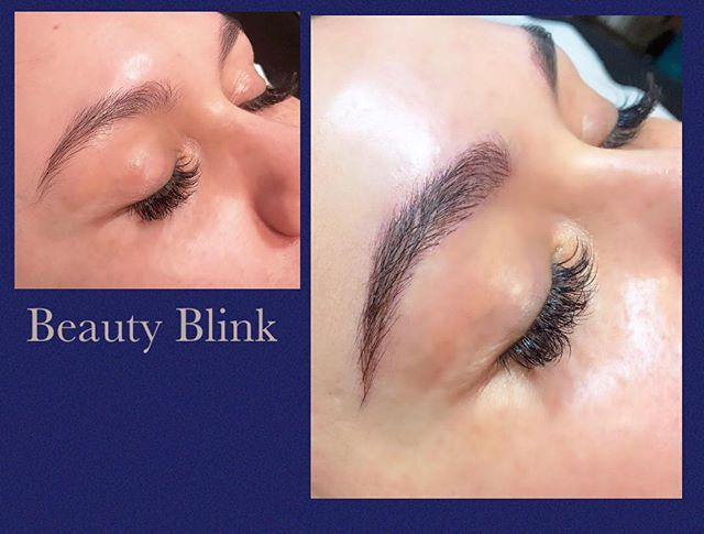 Microblading done by Olga of Beauty Blin