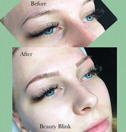 Powdered brows help clients achieve more