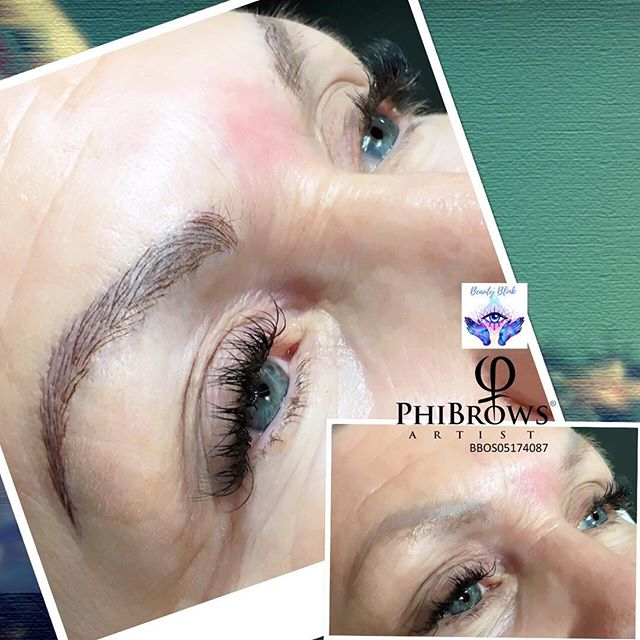 Microblading #phibrows #phibrowsartist #