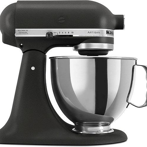 KitchenAid KSM150PSBK Artisan Stand Mixer, Imperial Black