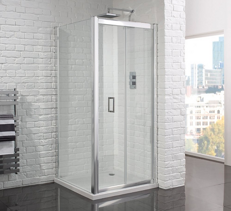 Aquadart Venturi 6mm Frameless Bifold Door