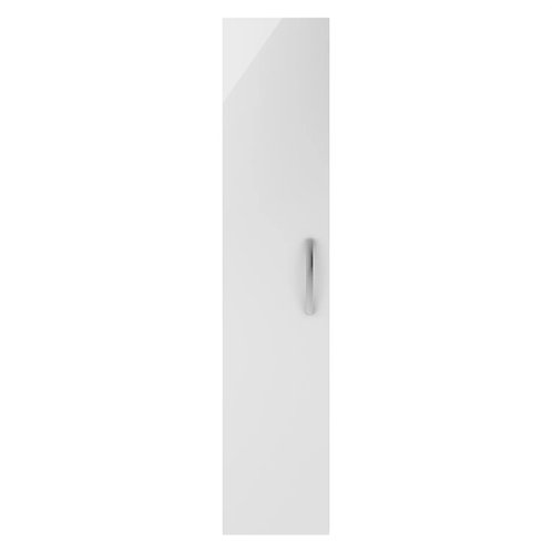 Athena Gloss White Single Door Wall Hung Unit