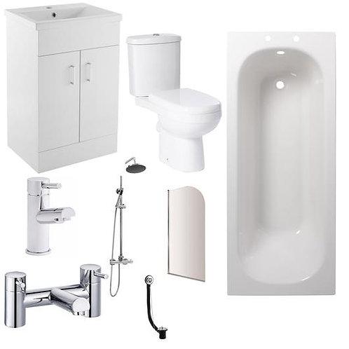 Complete Eden Vanity Bathroom Suite