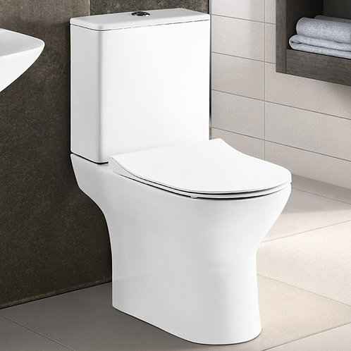 Freya Close Coupled WC with Slim Soft Close Seat NCG350