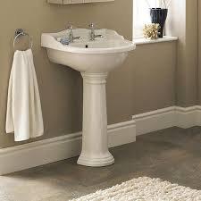 Chancery 500mm Basin & Pedestal 1 or 2 Taphole