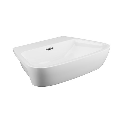Dearne semi recessed basin