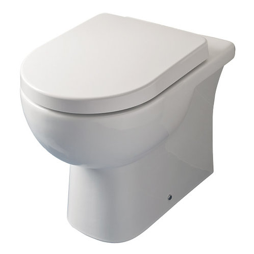 Ultra Comfort D Shape Back to Wall WC & Square Edge Seat