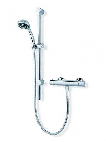 Equate Thermostatic Bar Shower & Riser Rail Kit