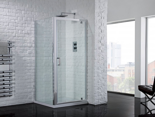 Aquadart Venturi 6 Pivot Door With Clean and Clear Glass