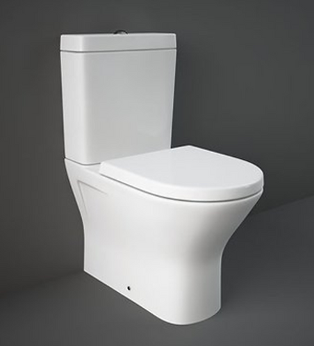 RAK Resort Mini Fully Back To Wall Rimless WC