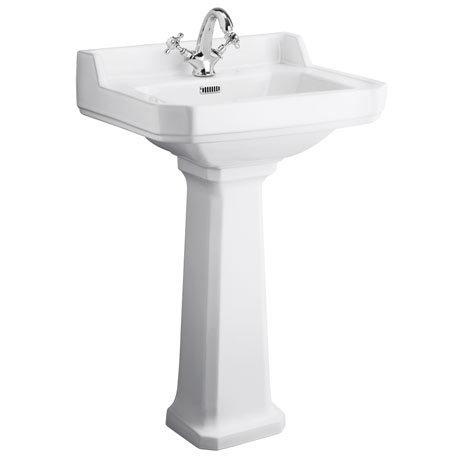 560mm Richmond Basin and pedestal 1 tap hole