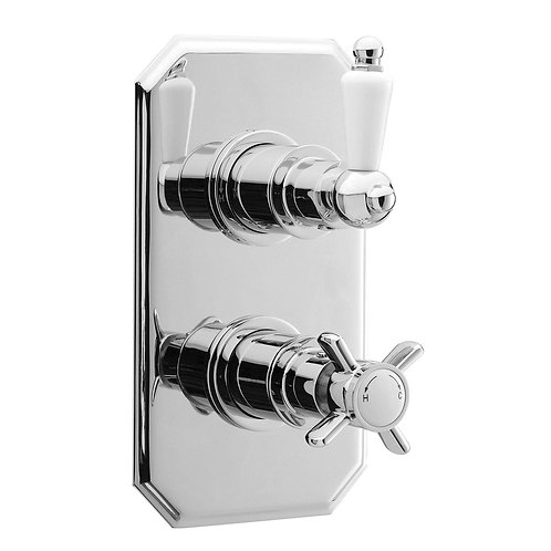 Hudson Reed Victorian Twin Concealed Shower Valve