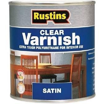 500ml Rustins Polyurethane Varnish