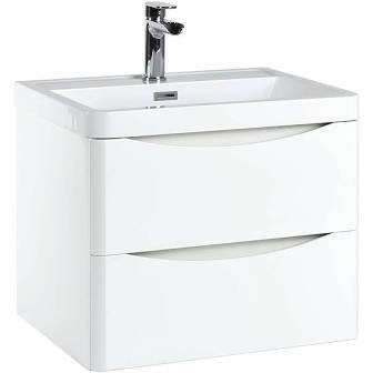 Bella 600mm White Gloss Unit and Basin