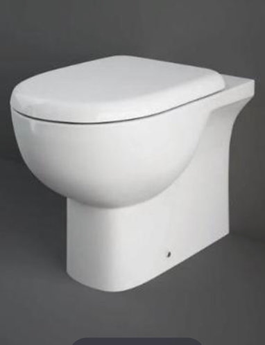 RAK Tonique back to wall WC  & curved seat