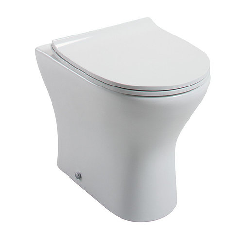 Spek Short Back To Wall Pan & Soft Close Seat