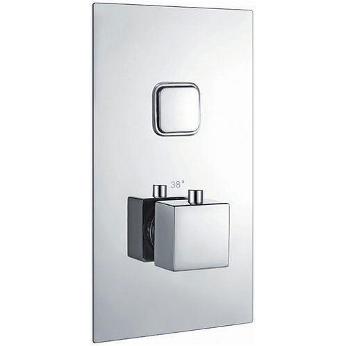 Harrison single square button valve