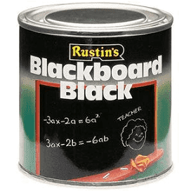 500ml Rustins Quick Dry Blackboard Paint