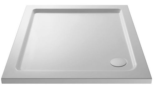 1000 x 900 Rectangle Shower Tray Inc Waste