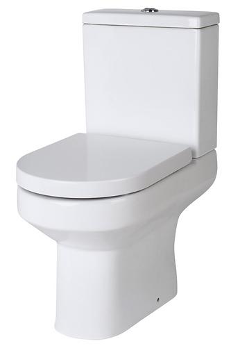 Rimless Bijou Close Coupled WC and soft close seat