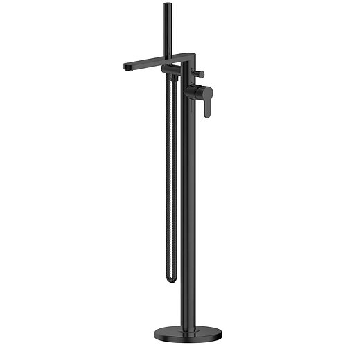 Arvan Black Freestanding Bath Shower Mixer ARV421