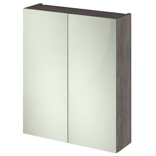 Athena Woodgrain 600mm Mirror Cabinet
